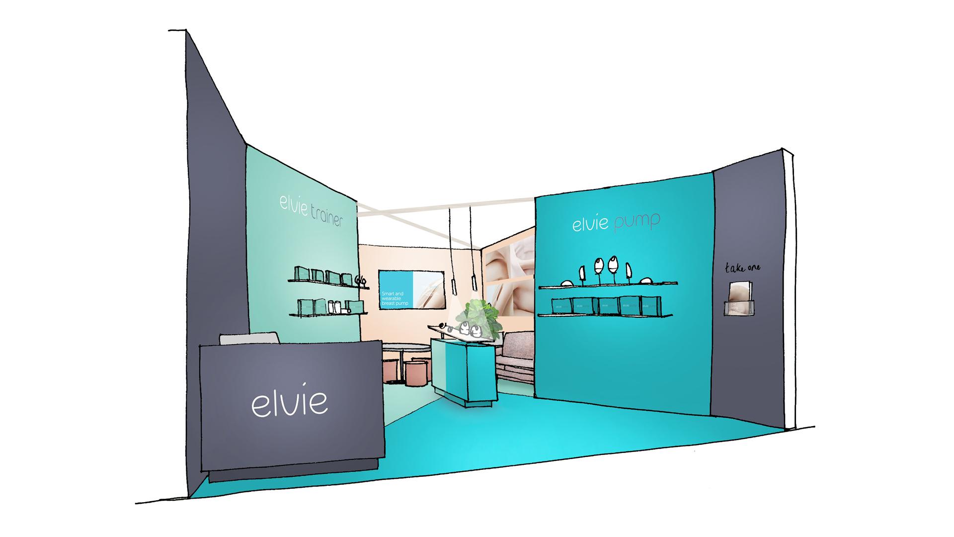 Elvie Exhibition Visual