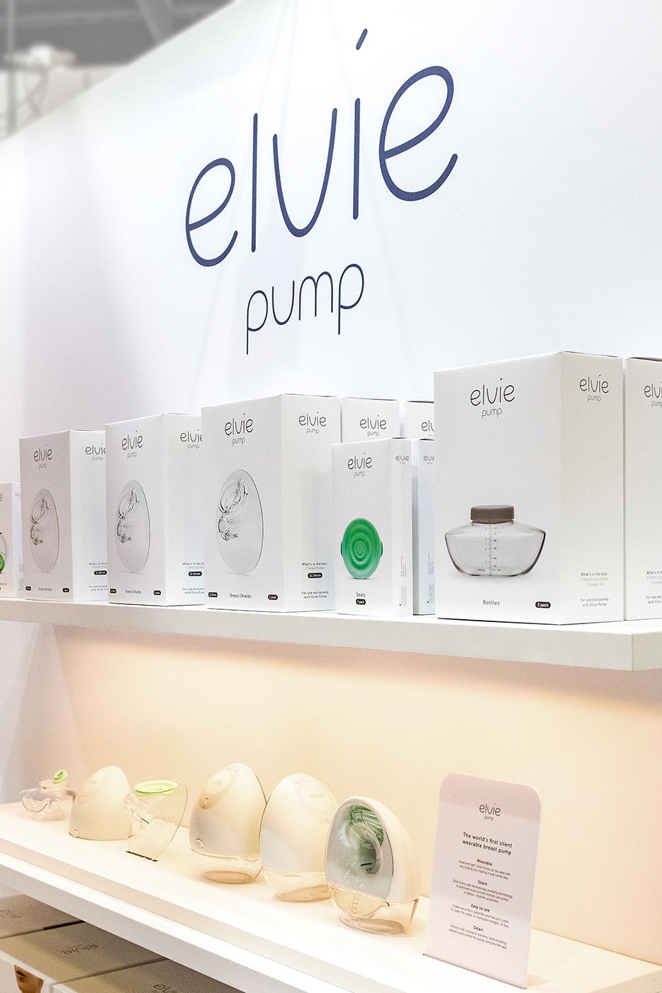 Elvie Exhibition Pump Detail