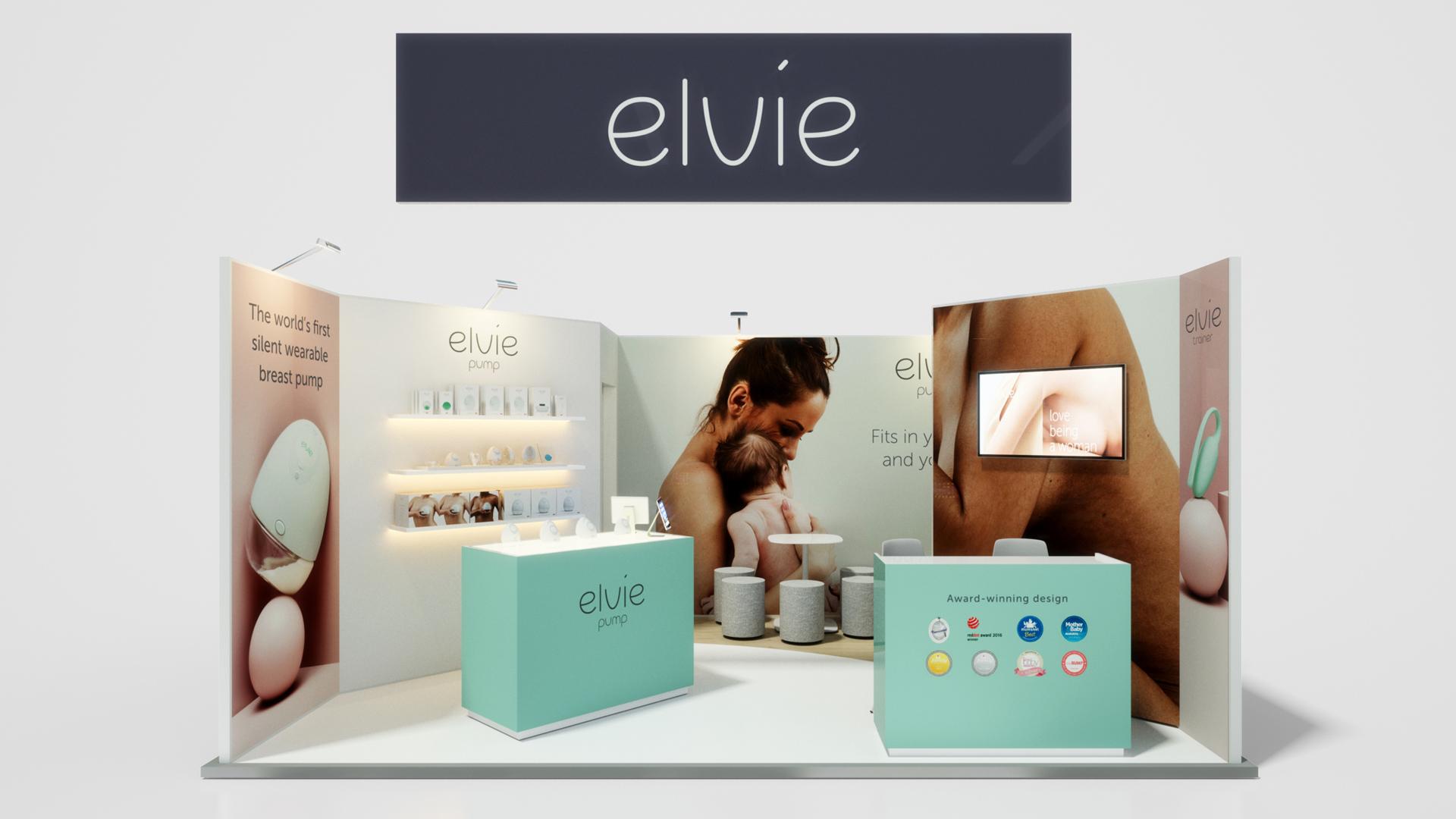 Elvie Exhibition Visuals