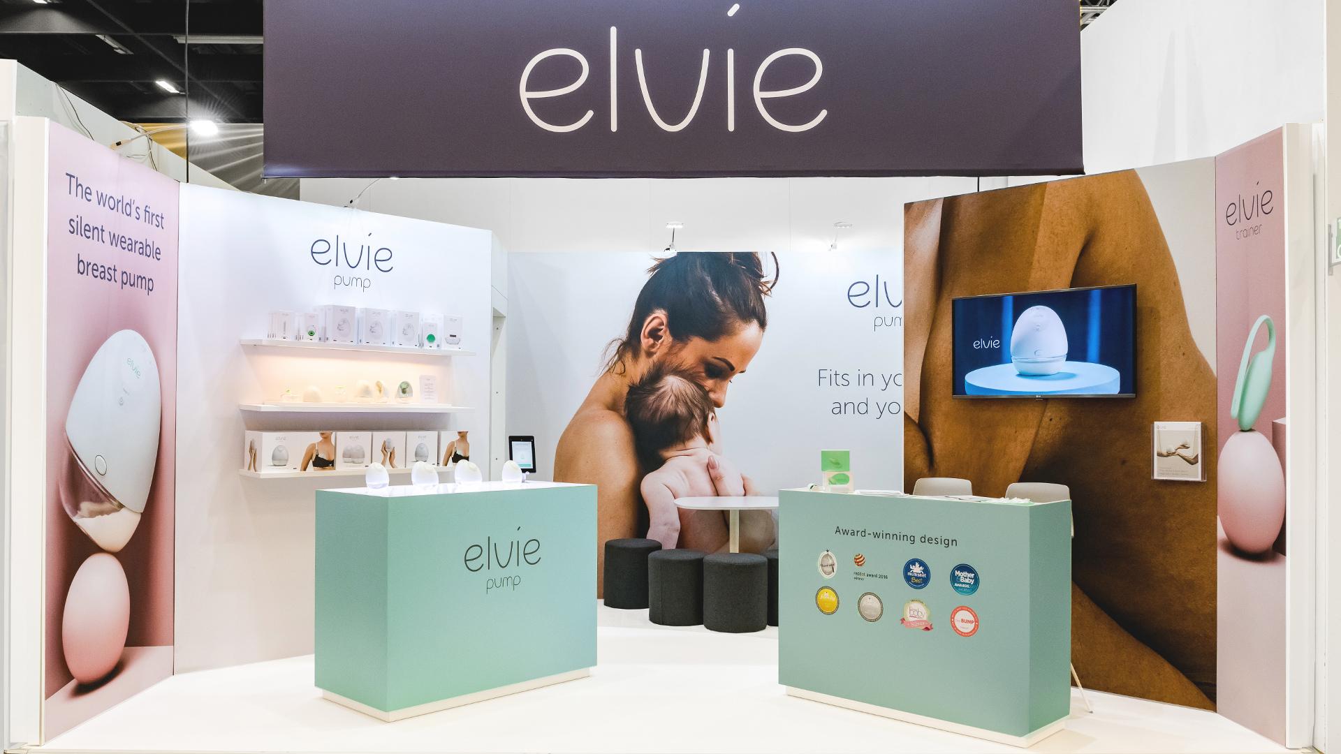 Elvie Exhibition Overview