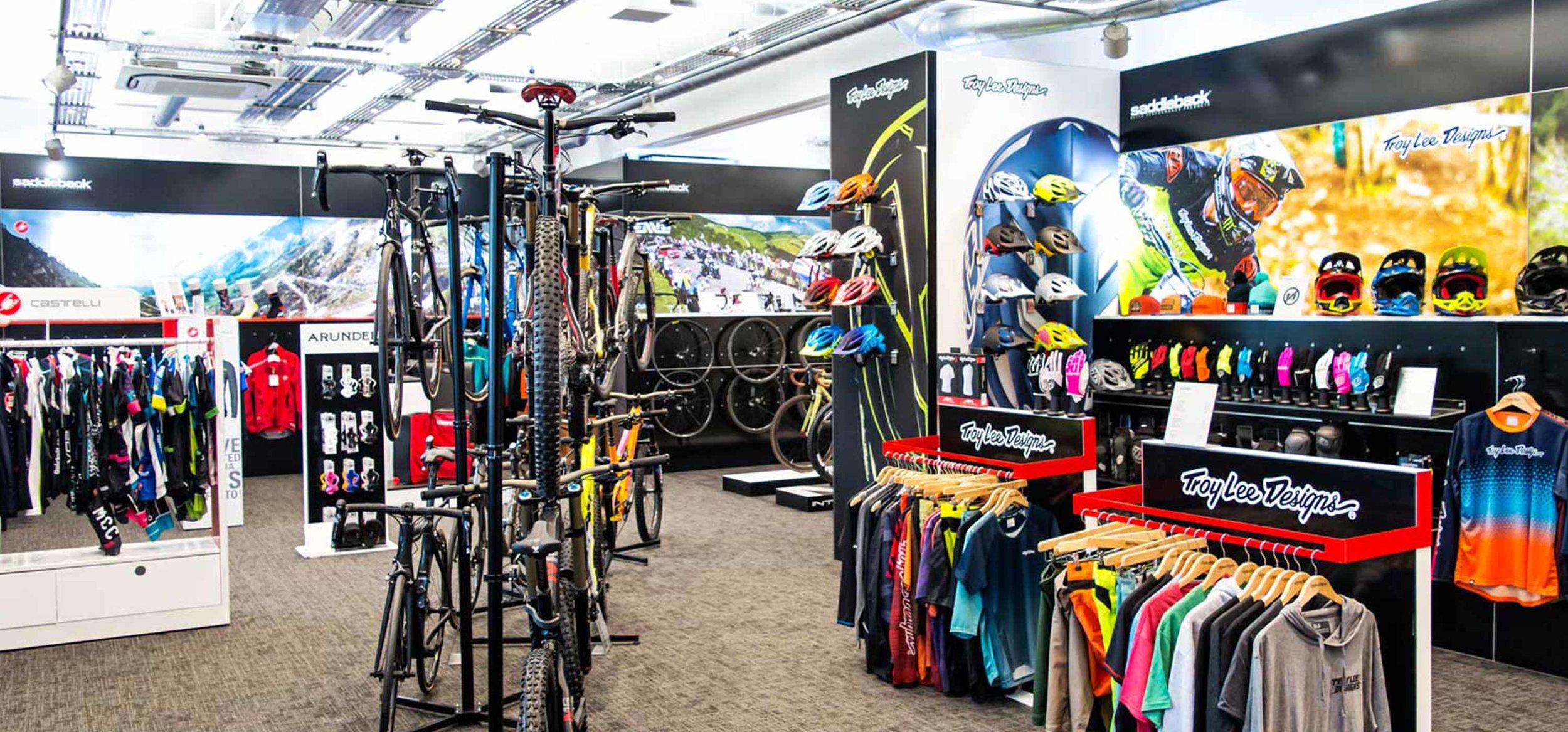 Saddleback Showroom Overview Brands