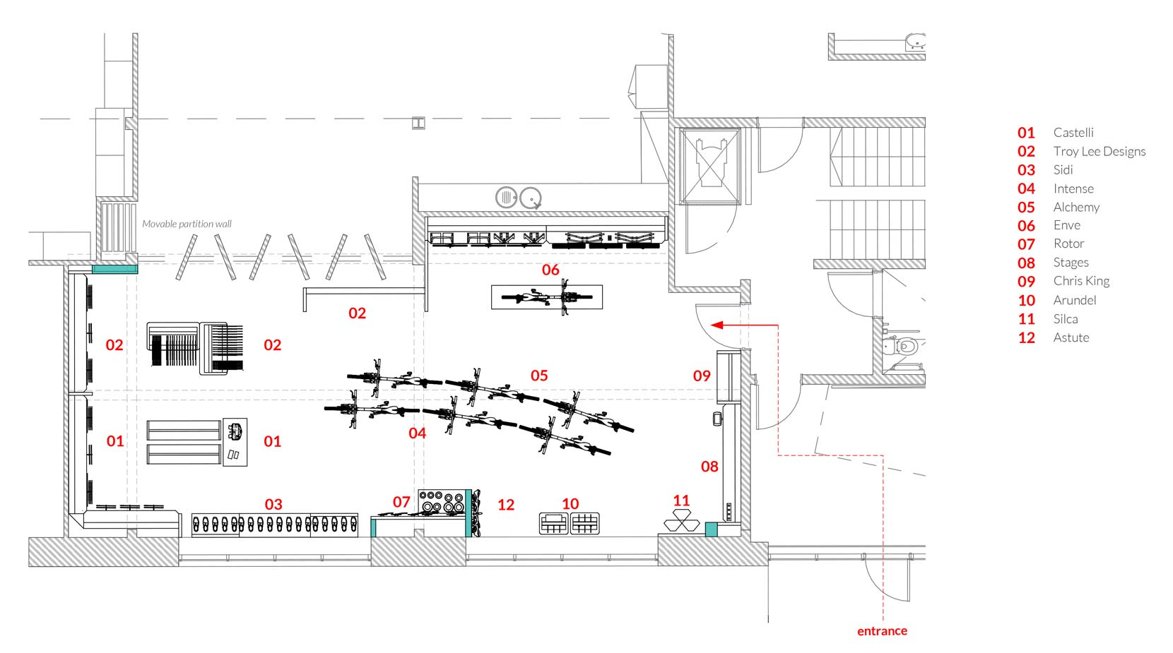 Saddleback Showroom Plan