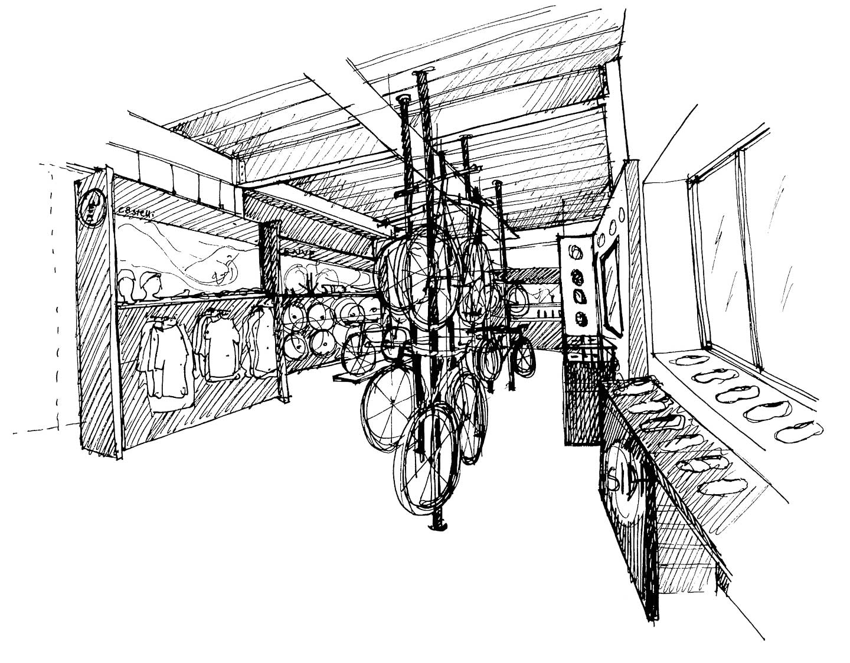 Saddleback Showroom Sketches