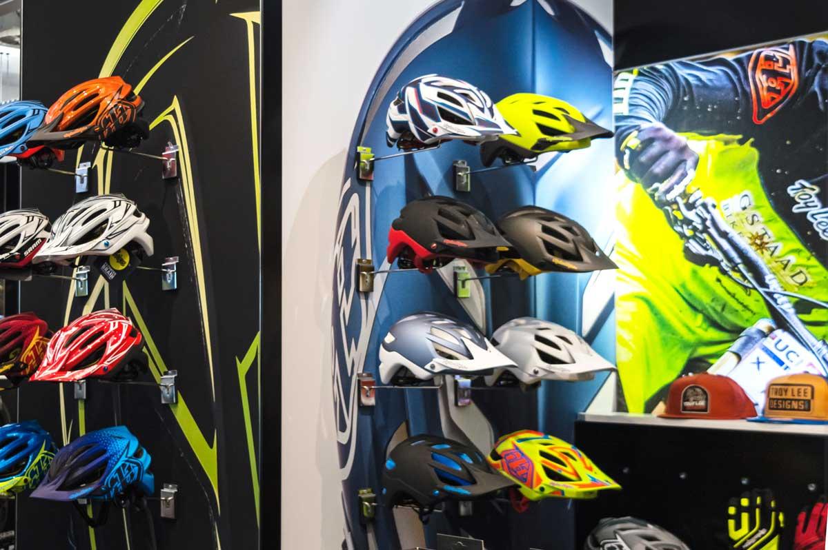 Saddleback Showroom Helmets