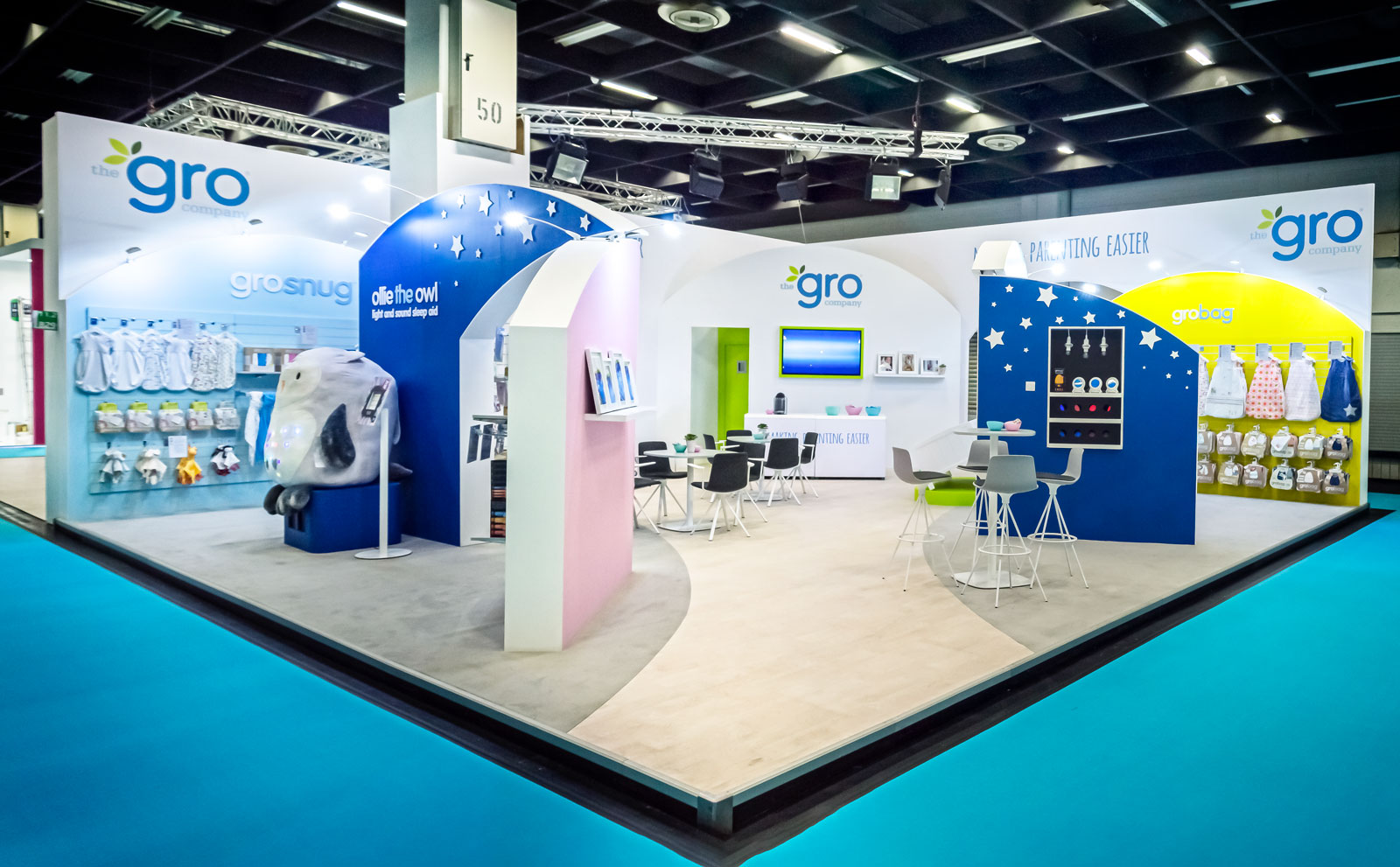 The Gro Company Exhibit Booth Overview