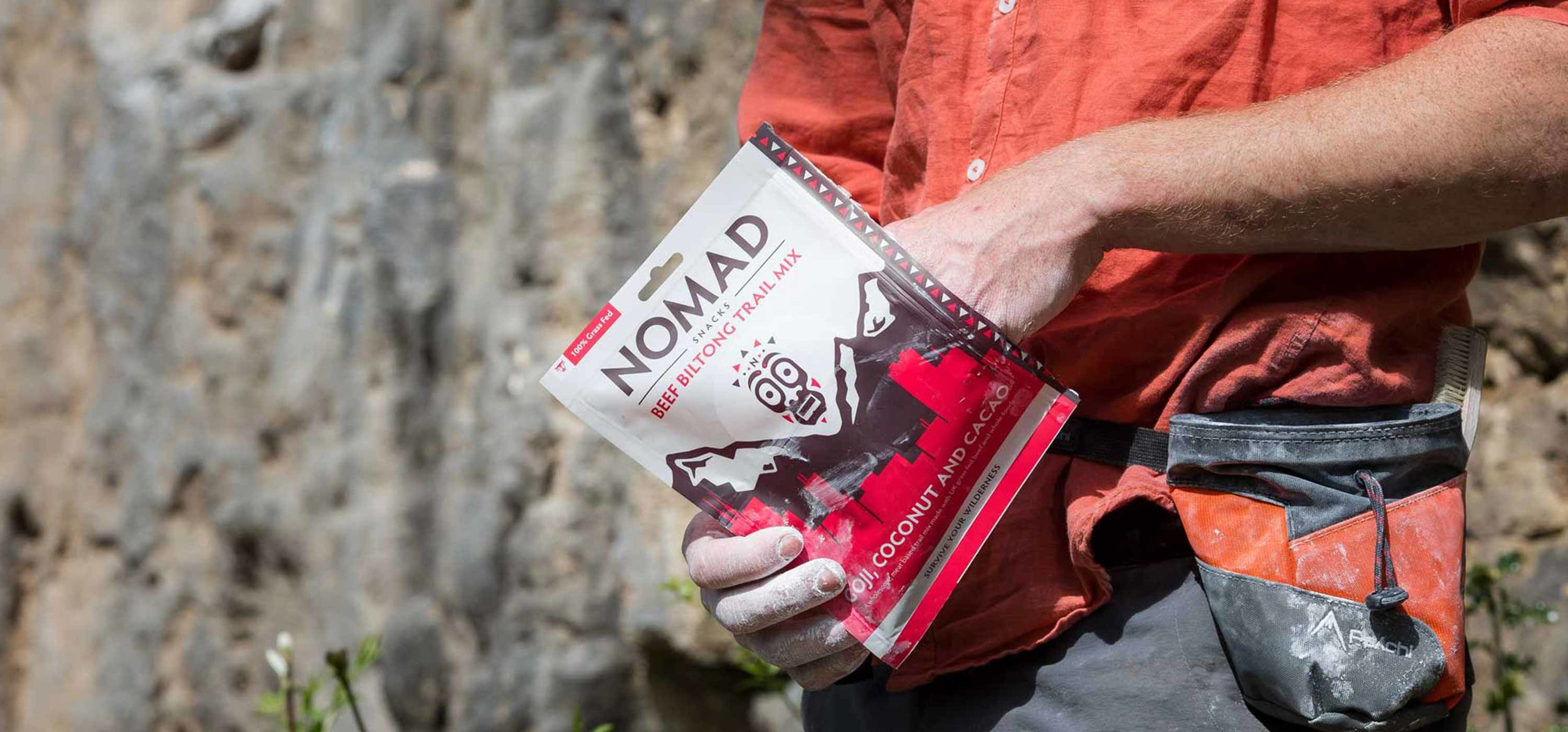 Nomad Packaging Open Packet