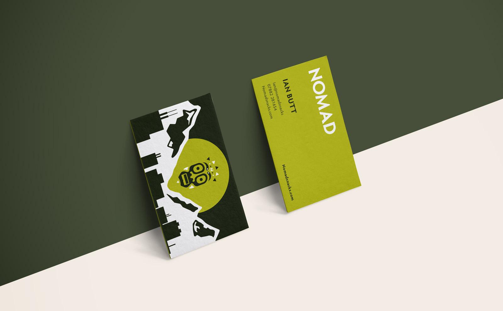 Nomad Branding Business Cards