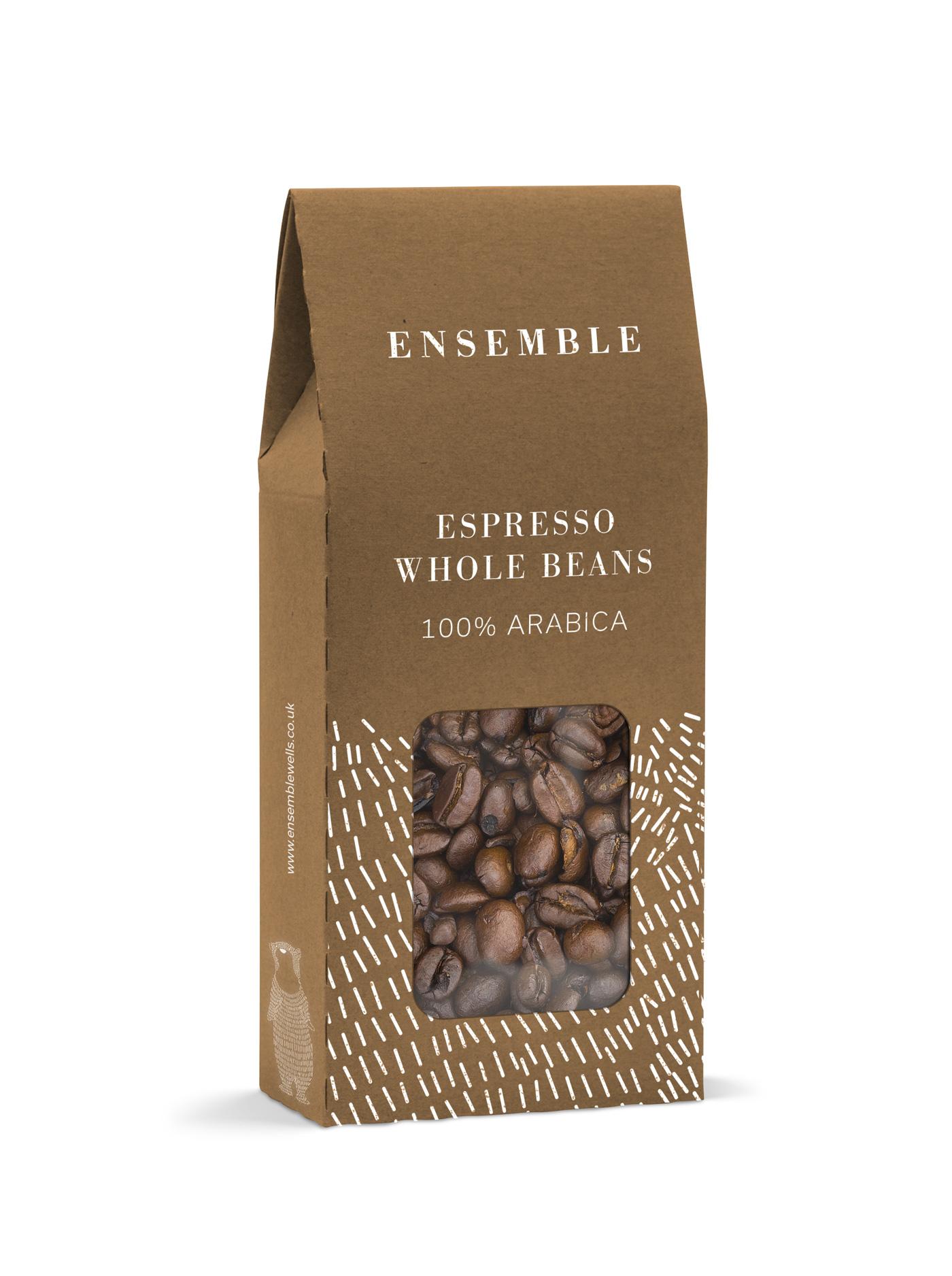 Ensemble Wells Coffee Packaging