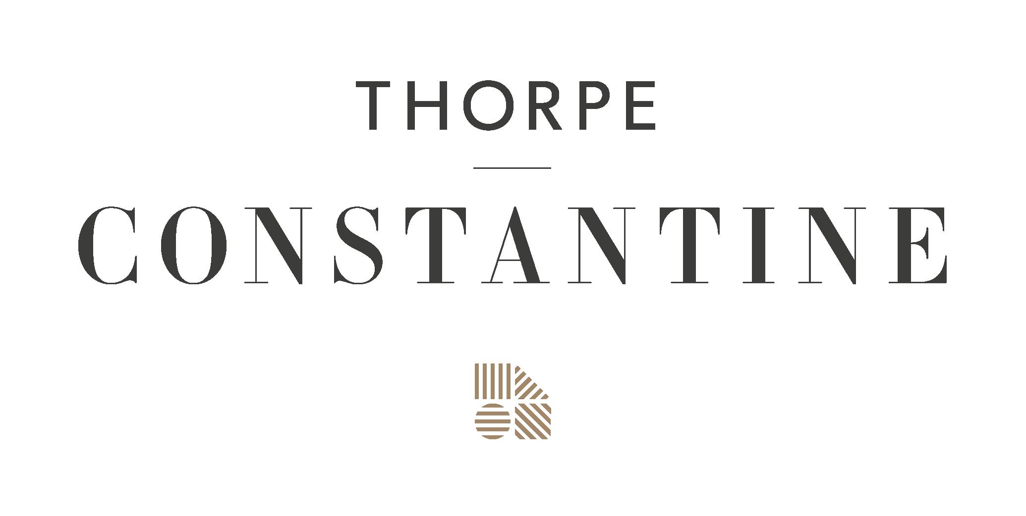 Thorpe Constantine Branding Primary Logo