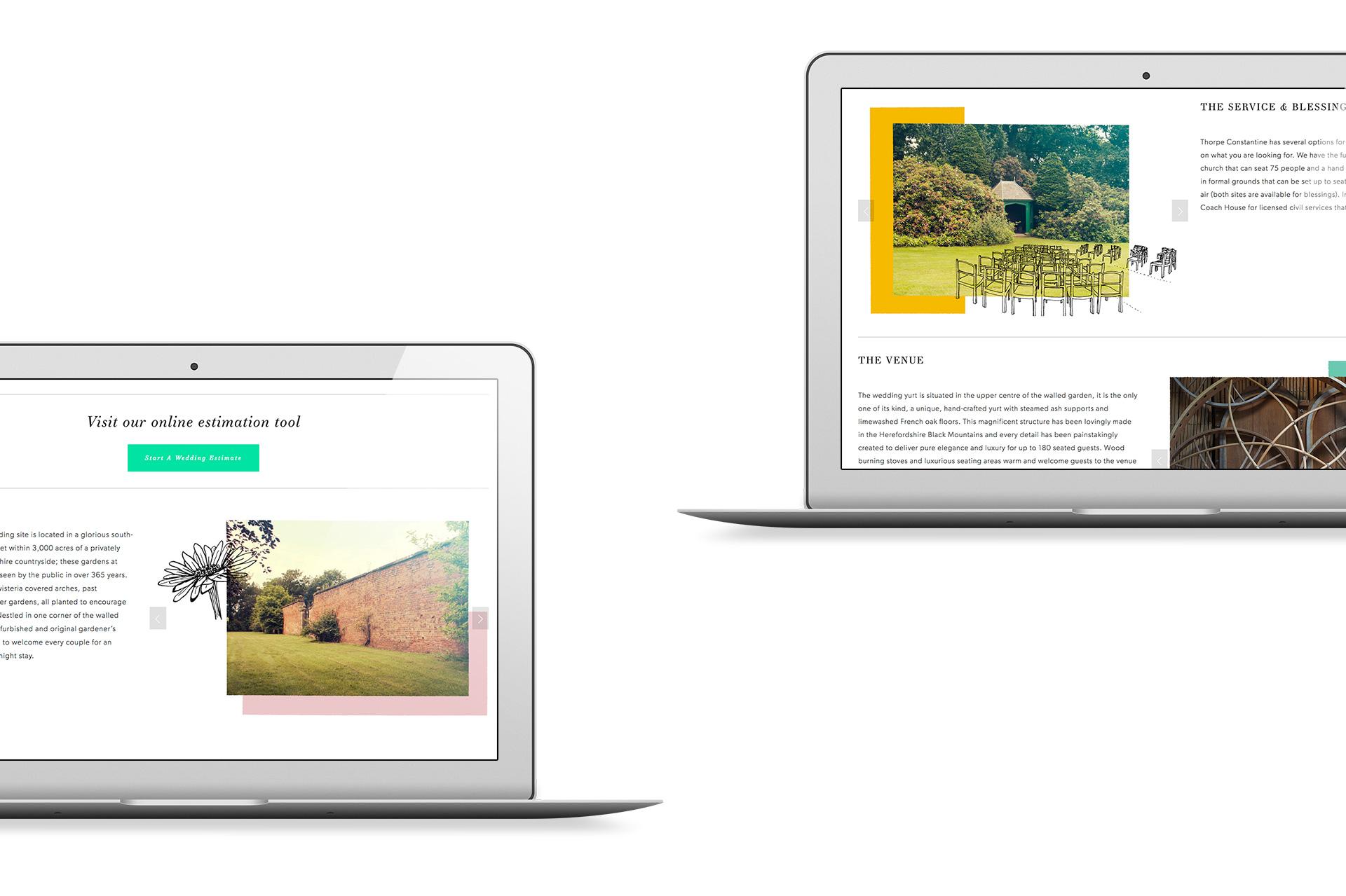 Thorpe Constantine Branding Digital Website