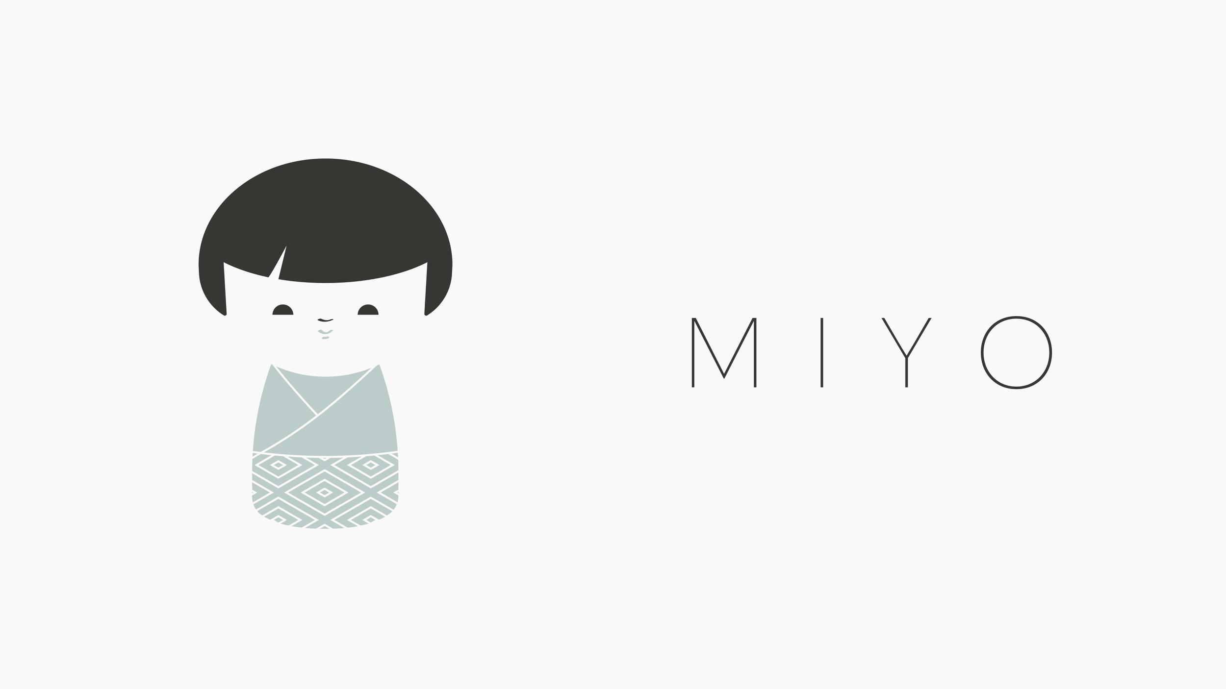 Miyo Branding Logo Overview