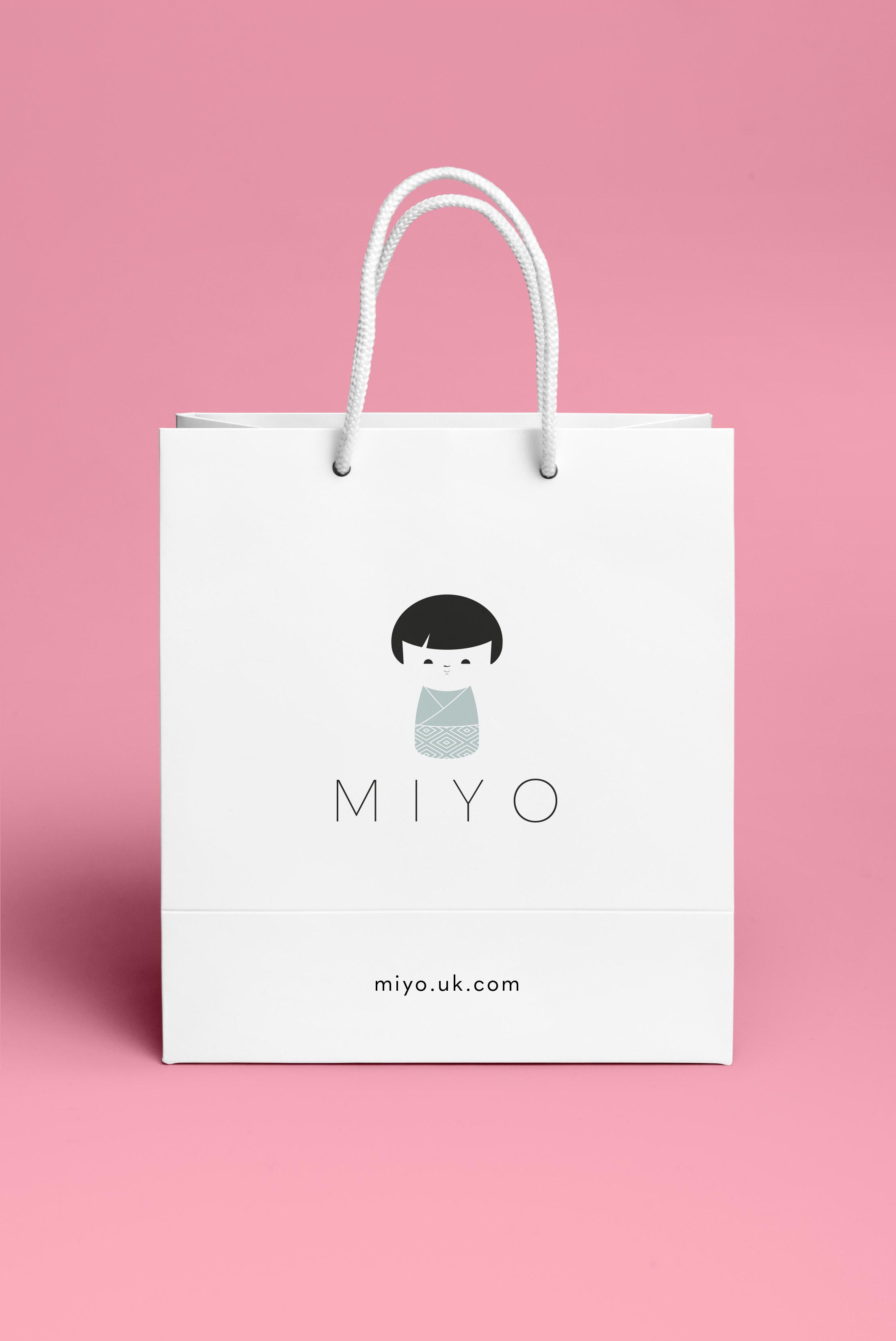 Miyo Branding Logo Bag