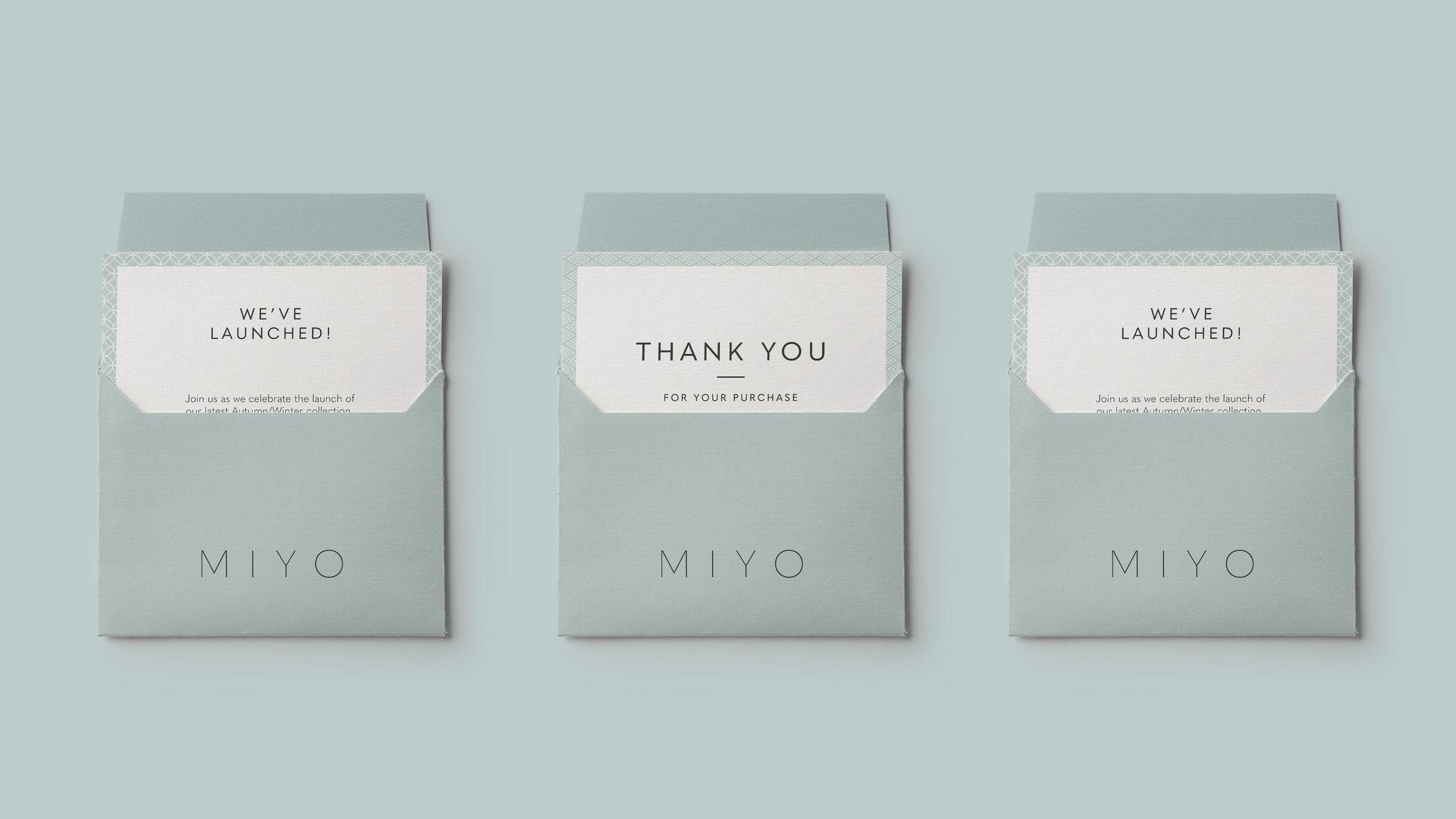 Miyo Branding Envelope