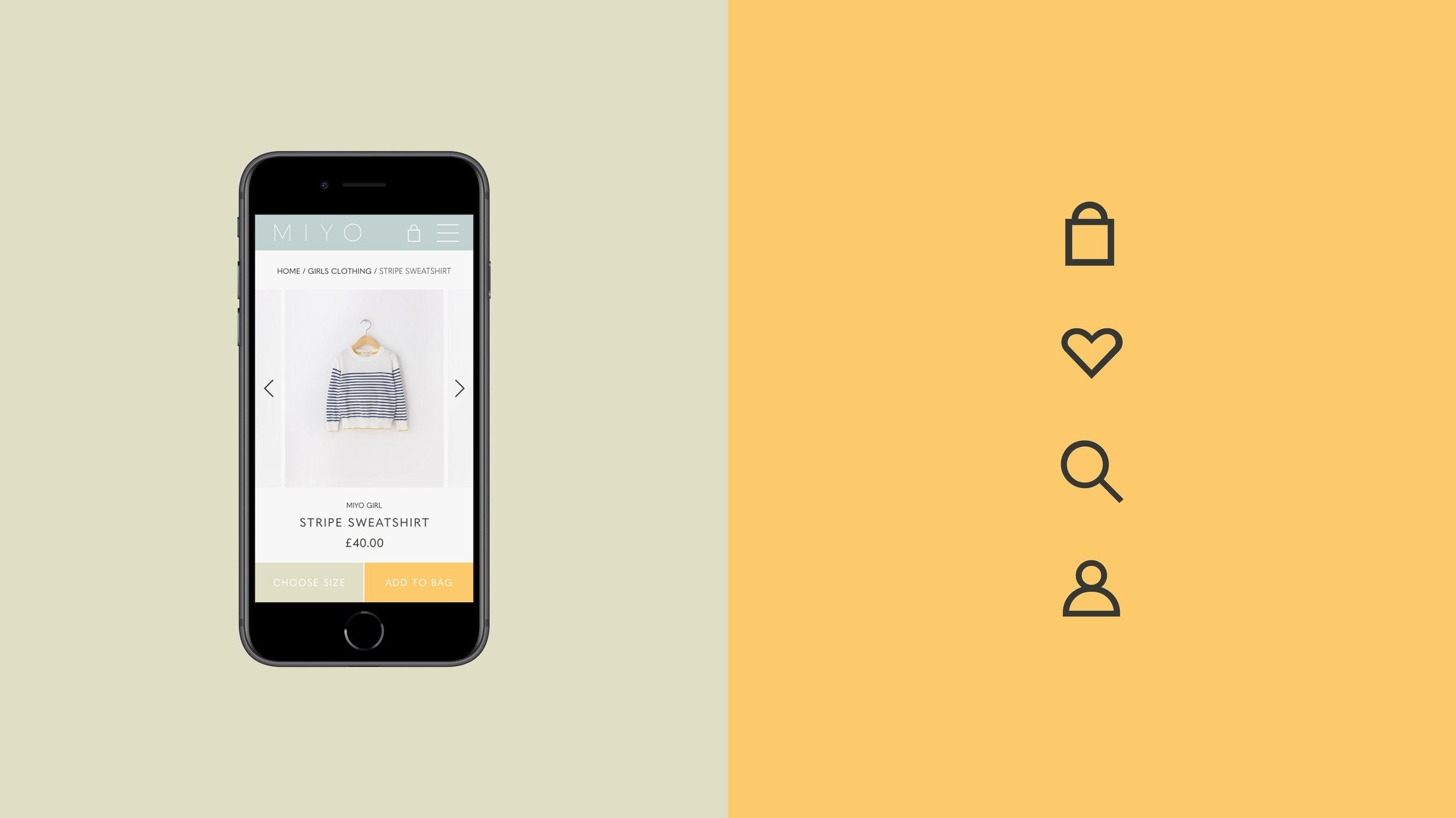 Miyo Branding Website Mobile Icon