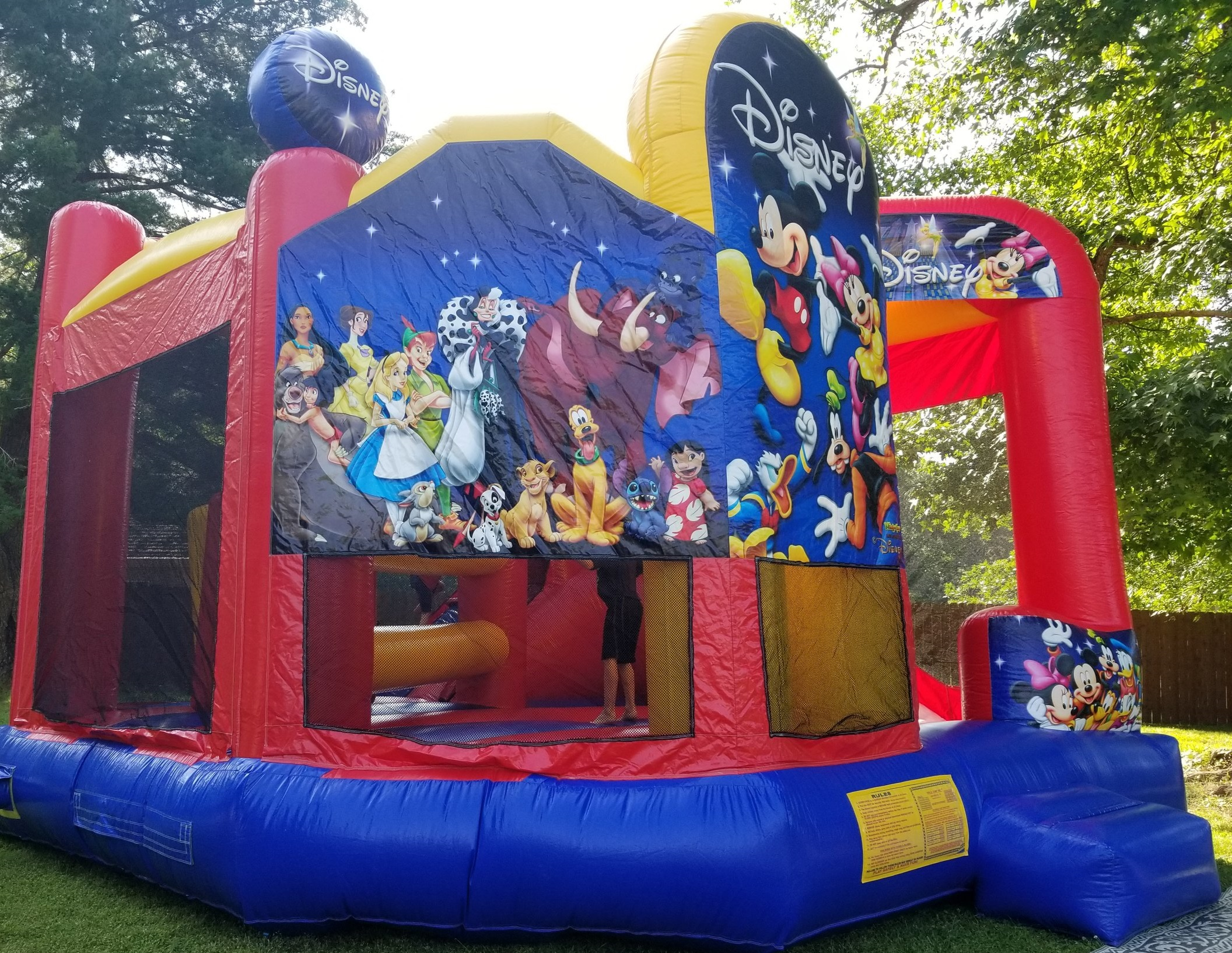 we will have bouncy houses, slides, & so much more! -