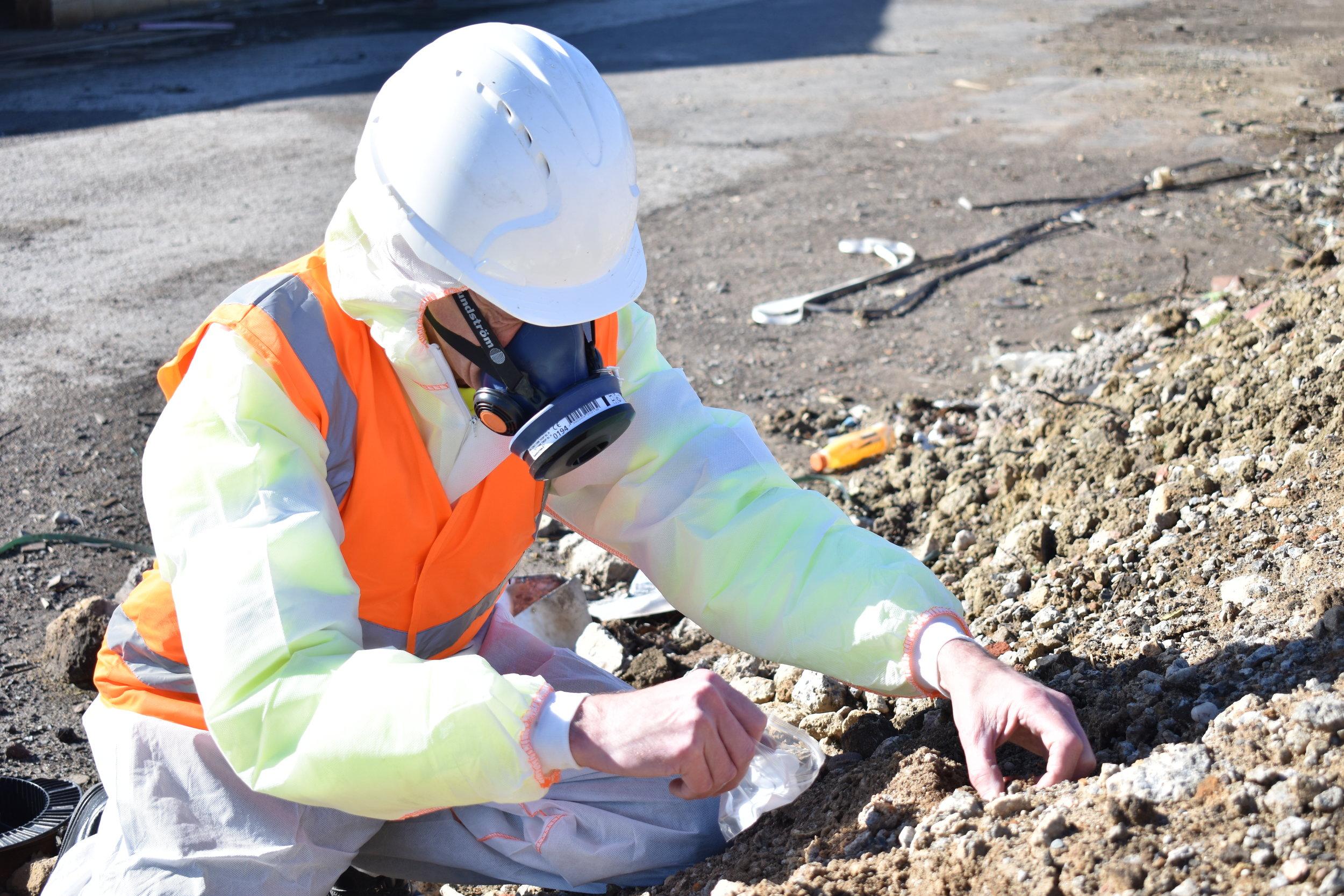 Ground Contamination -