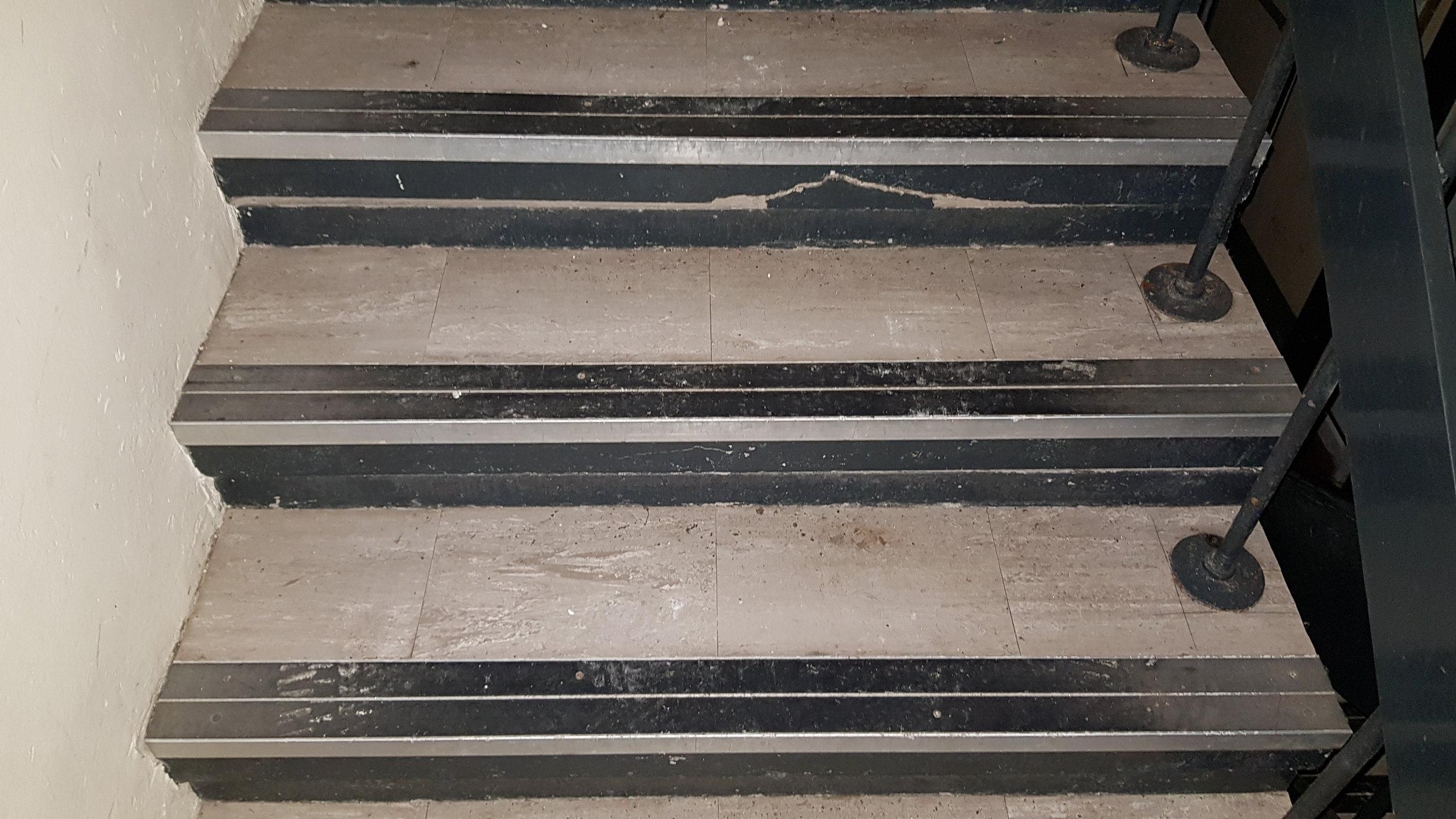 Asbestos Stair Nosings