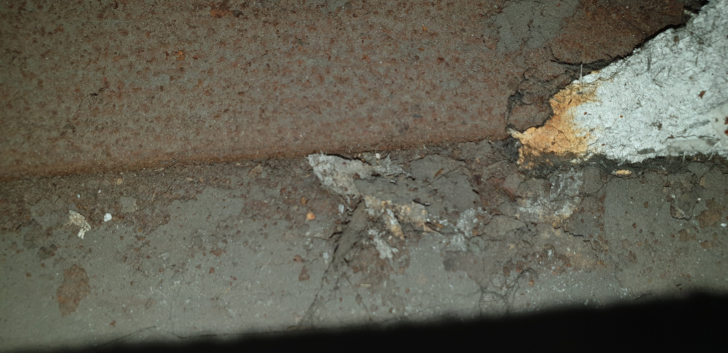 Asbestos Debris