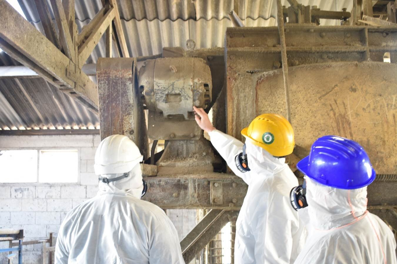 Factory Asbestos Survey — Asbestos Audit
