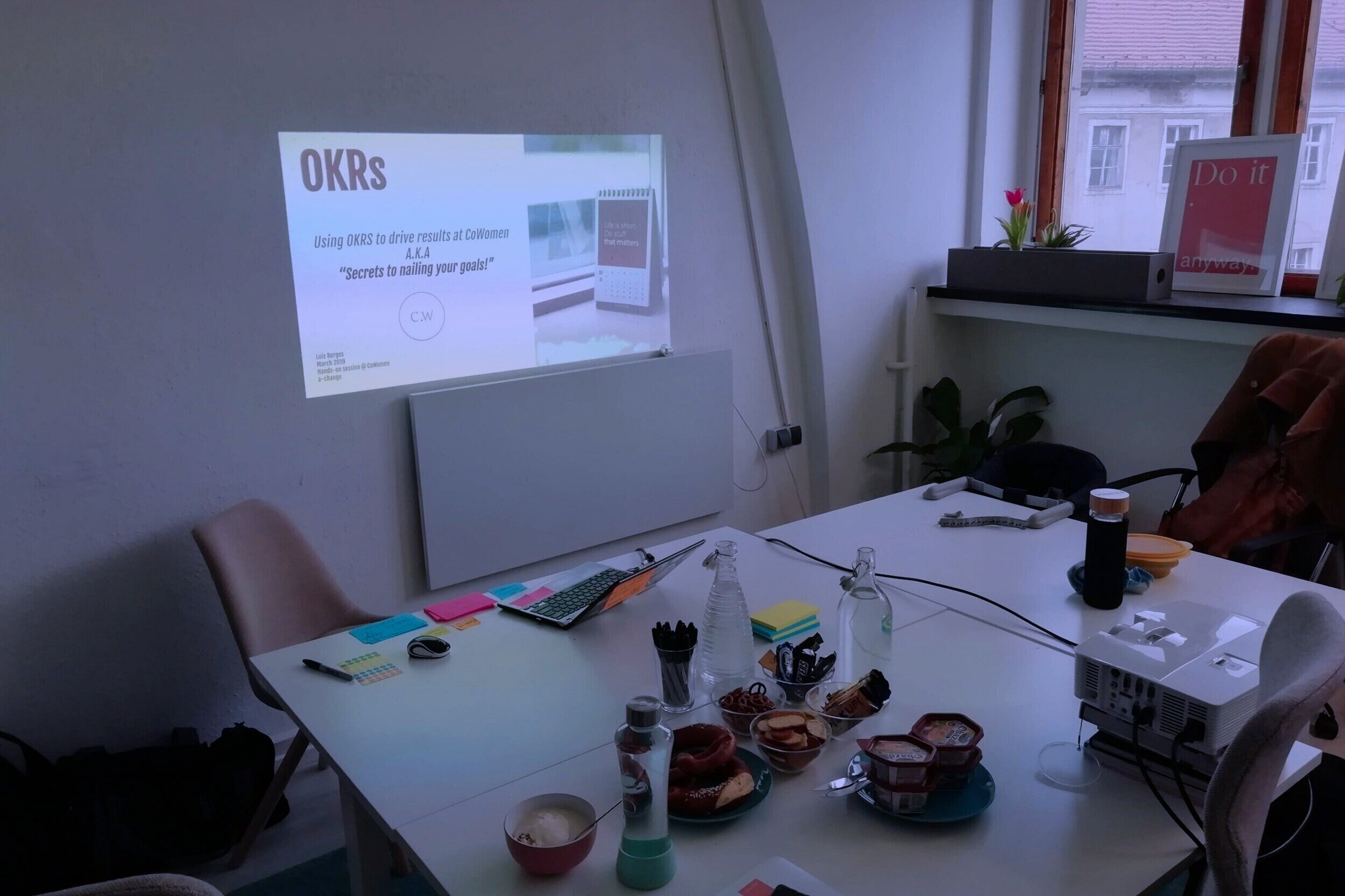 OKRs Implementationwith CoWomen -