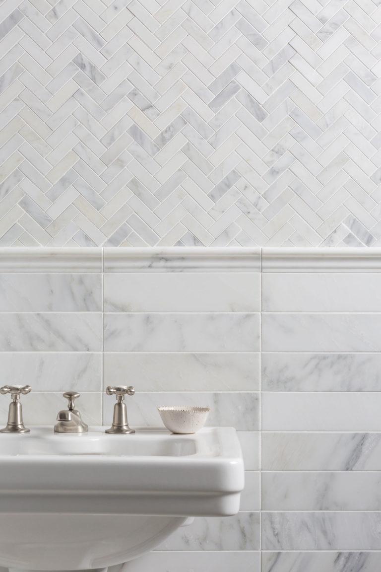 Marble tiles from Mandarin Stone