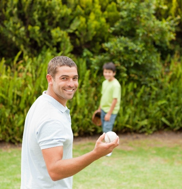 External Conflict : Shoulder Pain   Internal Conflict : Can't play catch with son.   Philosophical Conflict : Doesn't want pills or surgery.