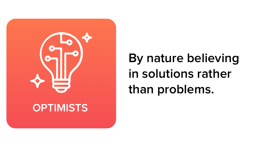 Optimists Values Marketing Agency