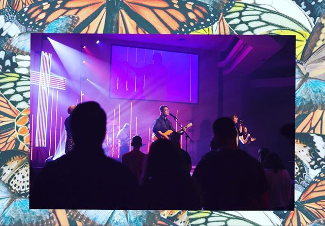 """""""I give thanks, for all You have done And I will sing, of Your mercy and Your love Your love is unfailing Lord, I am grateful."""" 🎶 Lord thank you for all you do for us! #worship #cyasunday"""