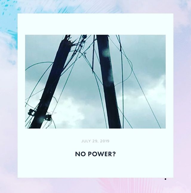 No Power? New blog is up! Go check out our new post. You want a fresh read? Something short you can read that gets you thinking. Then checkout our blog at cyoungadults.com/blog ! #cya #nopower