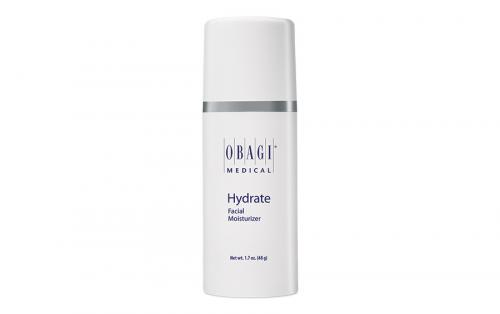Hydrate facial moisturiser  to keep skin hydrated
