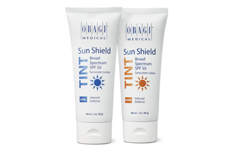 "Sun Shield SPF 50 Tint in  WARM  and  COOL  are always very popular with my patients, SPF with a built in skin tint for that ""no make up make up"" glow"