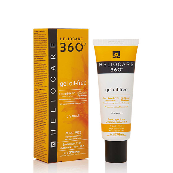 I have always been a user of  HELIOCARE and this 360 Gel Oil Free SPF 50  has a unique oil-free dry touch texture and is enriched with anti-bacterial, anti-microbial and sebum controlling technology, which makes it ideal for sensitive and acne prone skin.