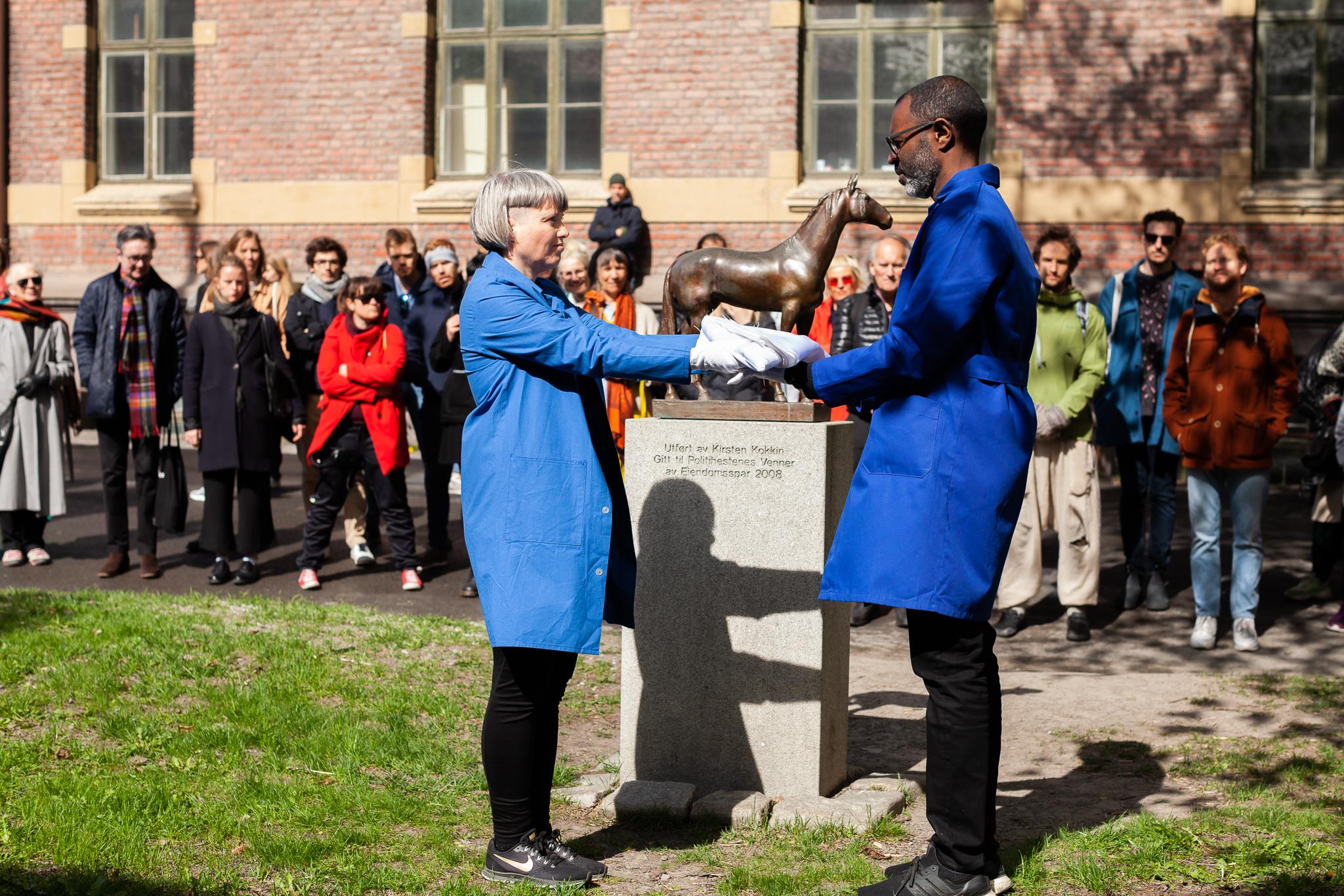 "Studio Toad - Thorjussen & Lawrence, ""Unveiling Ceremony"""