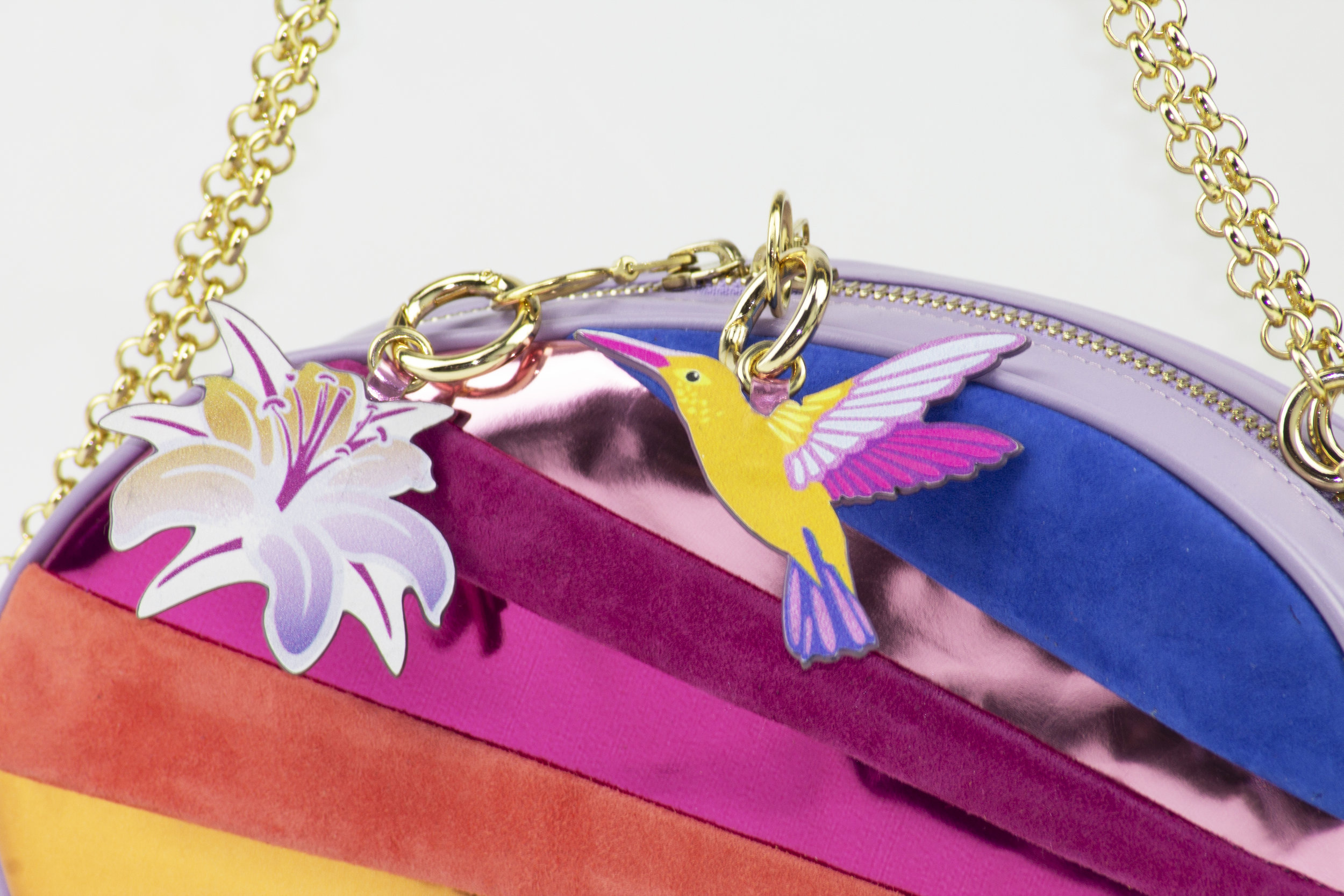 PERSONALISE YOUR CLUTCH - CARRY A LUCKY CHARM EVERYWHERE YOU GO