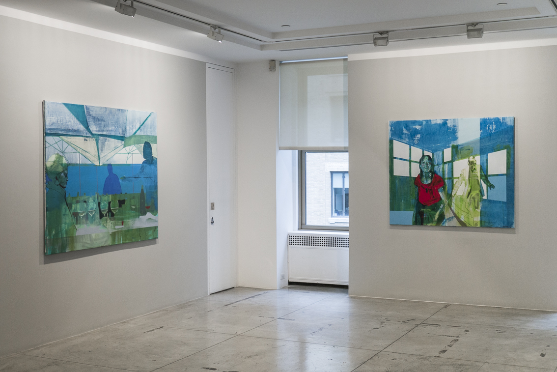 Installation View,  Kenneth Blom  at Jason McCoy Gallery,  J anuary 15 - Feb ruary 28, 2014