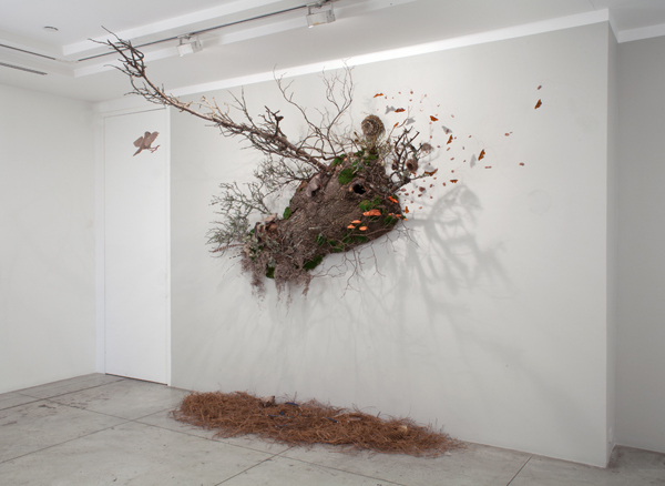 Kevin King: Fall of a Sparrow,  Installation View at Jason McCoy Gallery, 2015.
