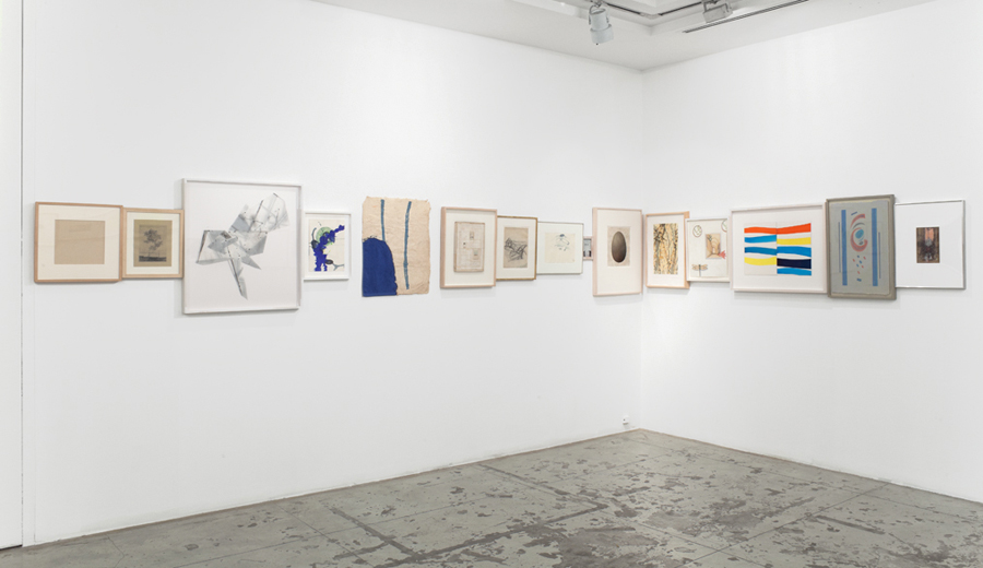 Paper Band , Installation View at Jason McCoy Gallery, 2012.