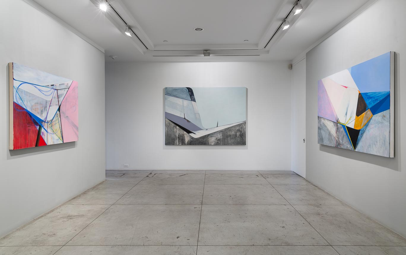 Nick Lamia: Cloud, Mountain, Valley, Sea,  Installation view at Jason McCoy Gallery, 2018.