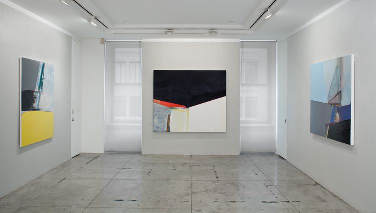 Nick Lamia: Symmetry Breaking , Installation view at Jason McCoy Gallery, 2014.