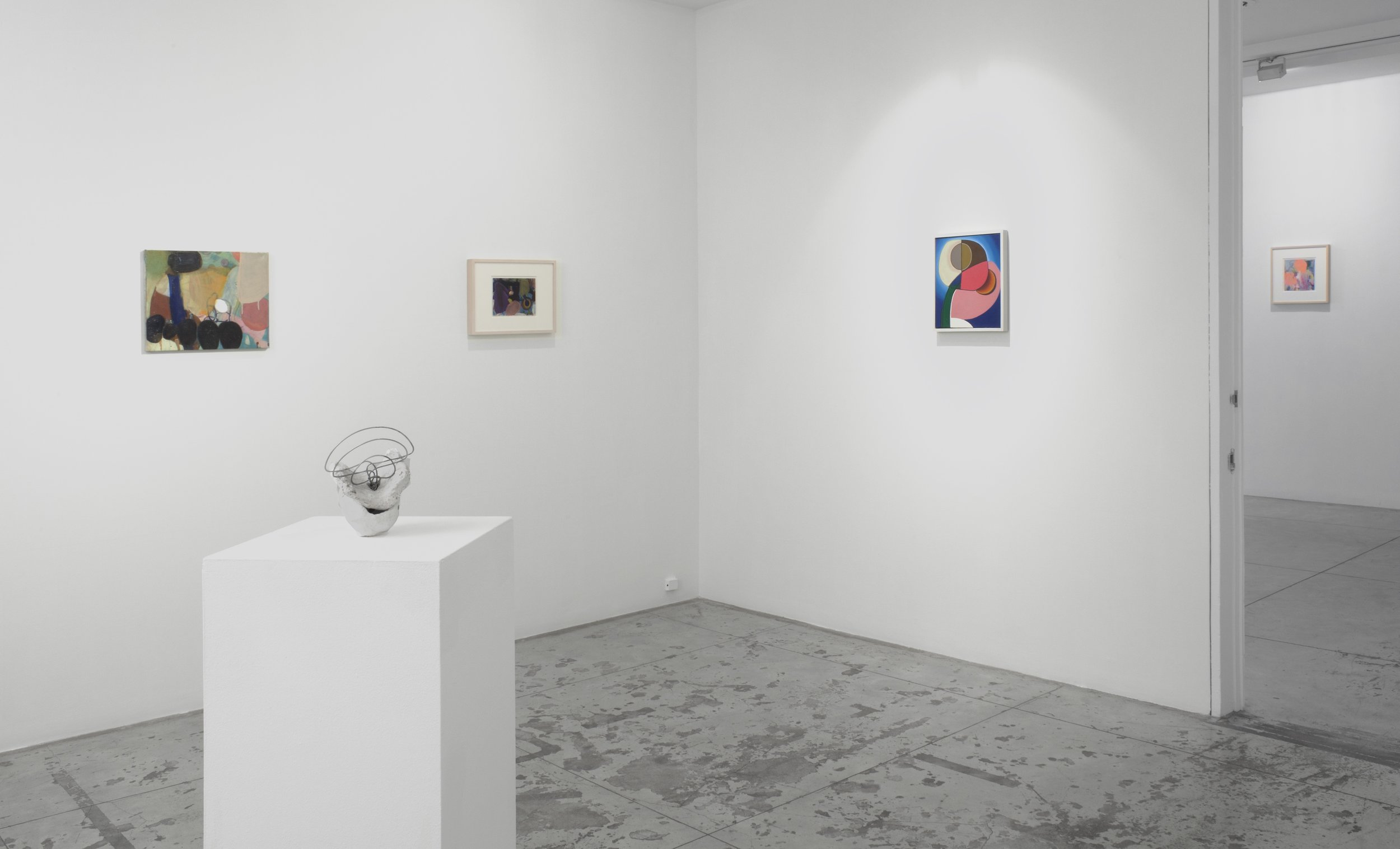 Bryan Osburn: One and Others , Installation view at Jason McCoy Gallery, 2012.