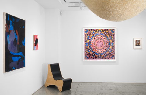 After Paradise , Installation view at Jason McCoy Gallery, 2011.