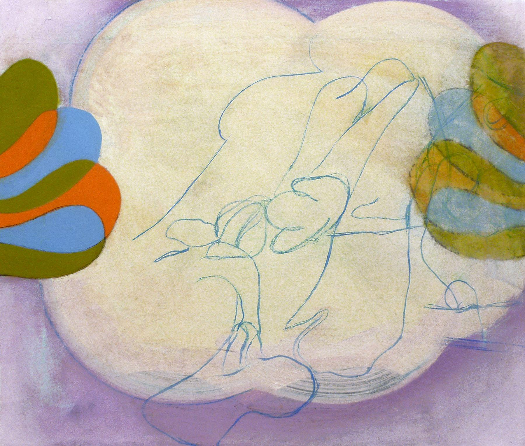 Bryan Osburn   Untitled , 2012 Oil on canvas 16 x 18 inches (40.6 x 45.7 cm)