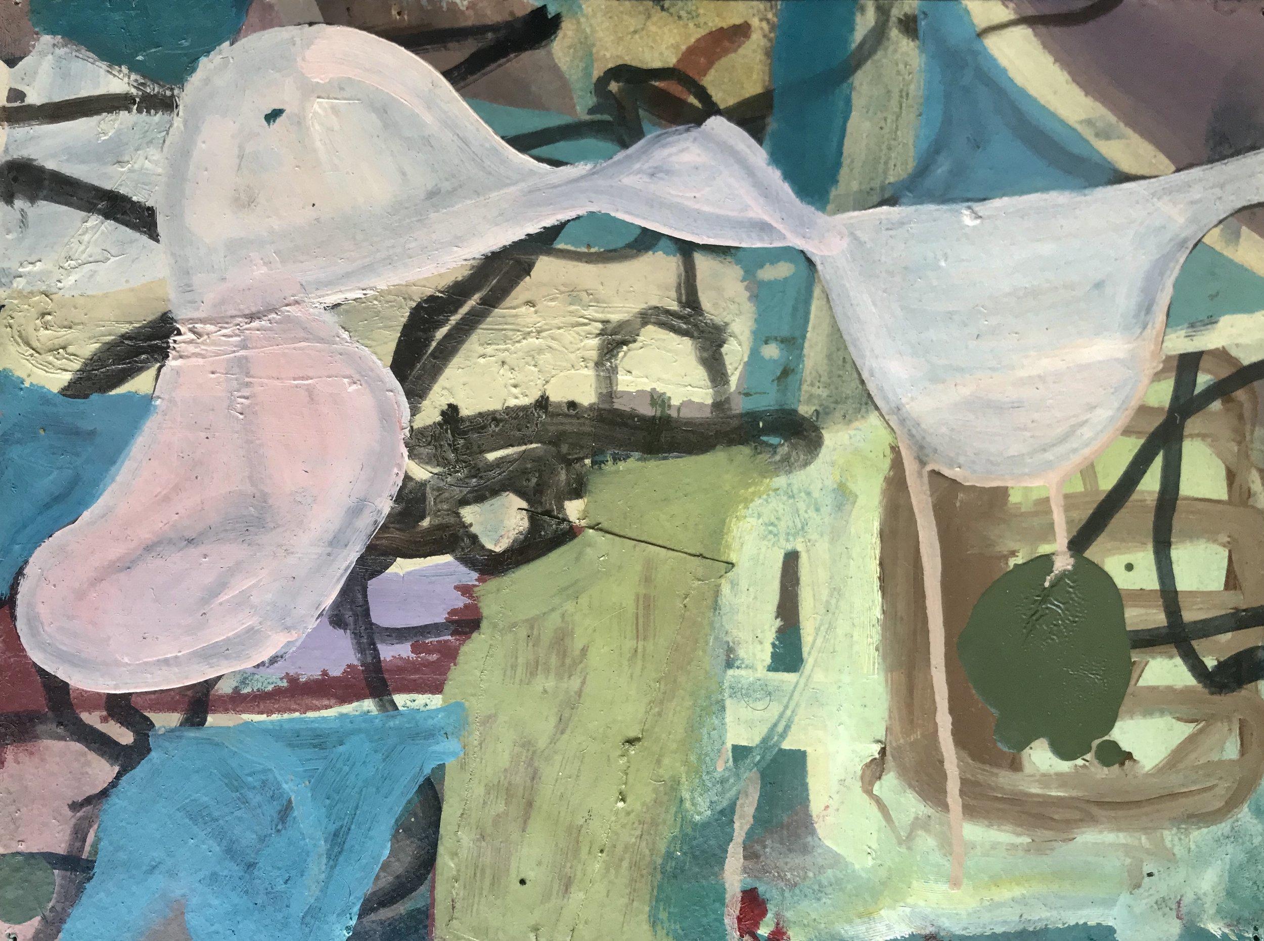 Bryan Osburn   Untitled , 2013 Oil on paper 9 x 12 inches (22.9 x 30.5 cm)