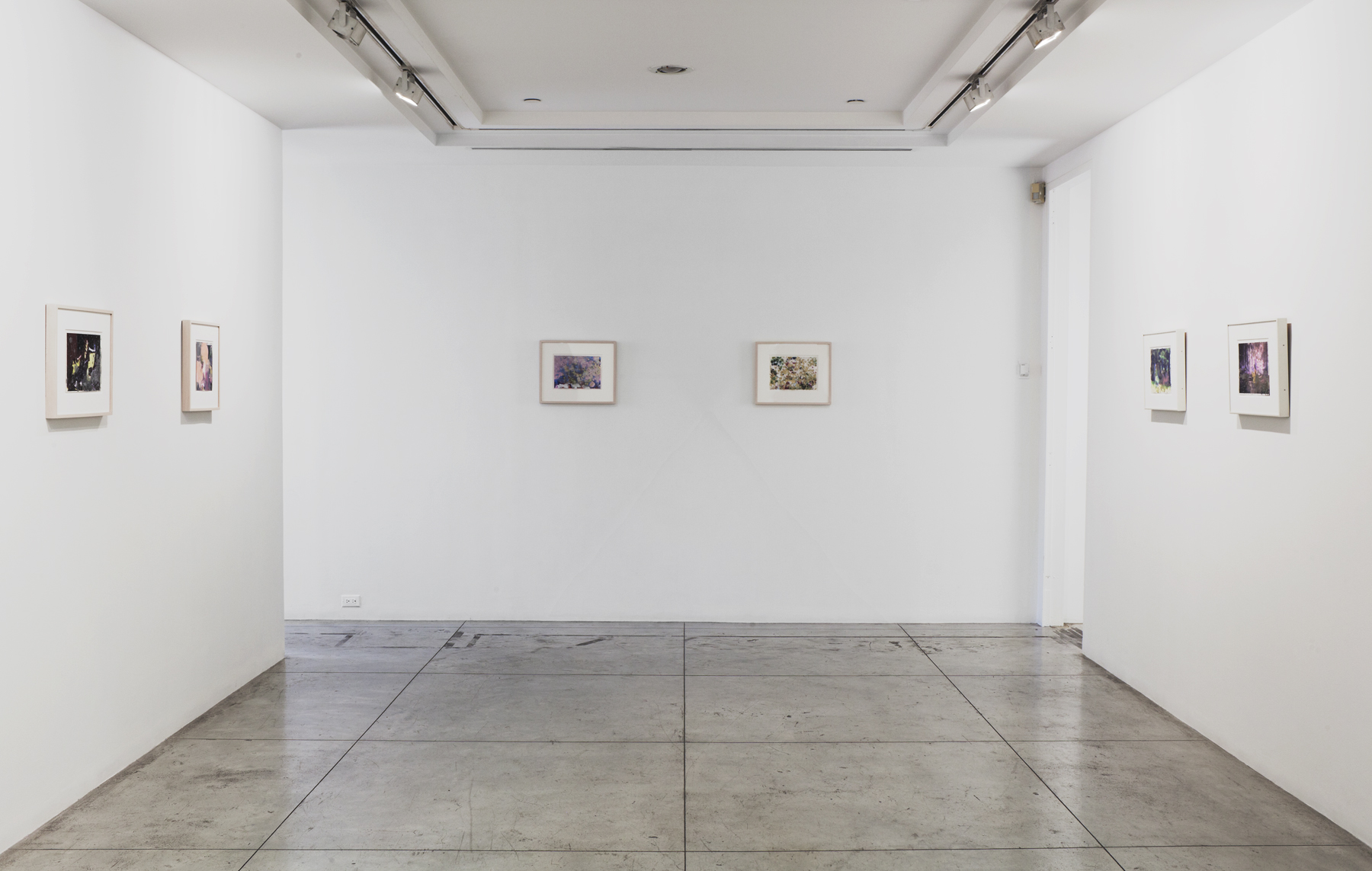 ANNELIES STRBA and ADRIAN SCHIESS: COLLABORATION,  Installation view at Jason McCoy Gallery, New York, 2012.