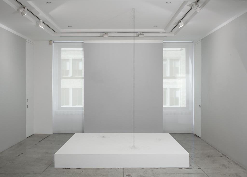 Christiane Löhr: displuvio , Installation view, Jason McCoy Gallery, 2015.