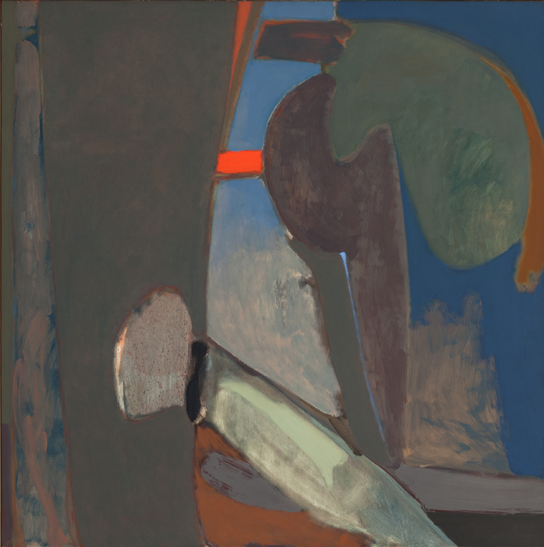 Stephen Greene  (1917-1999)  The Ladder , 1963 Oil on canvas 58 x 58 inches 147.3 x 147.3 cm