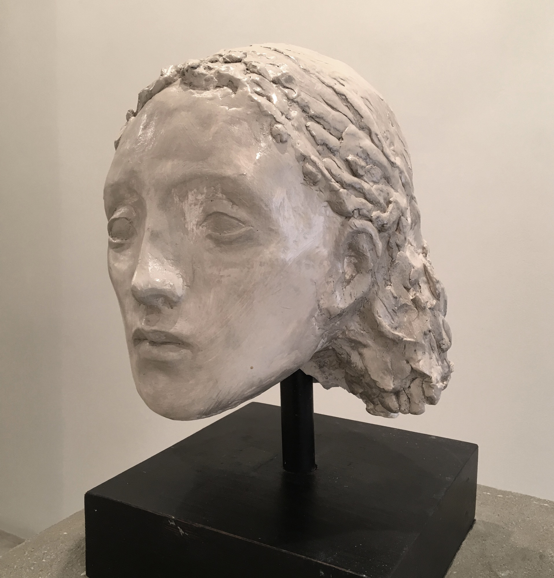 Raymond Han    Untitled , 2015-2017  2 x 10 1/4 x 8 3/4 inches  30.5 x 26 x 22.2 cm  Limited edition plaster casts available through the Estate of Raymond Han