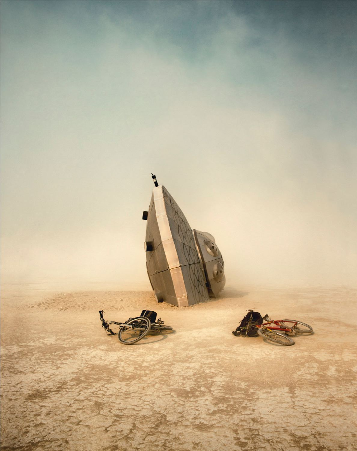 Anders Overgaard   Crash Site Alpha 13 , 2017  Framed size:  59 1/2 x 48 1/2 inches  151.1 x 123.2 cm  Edition of 3