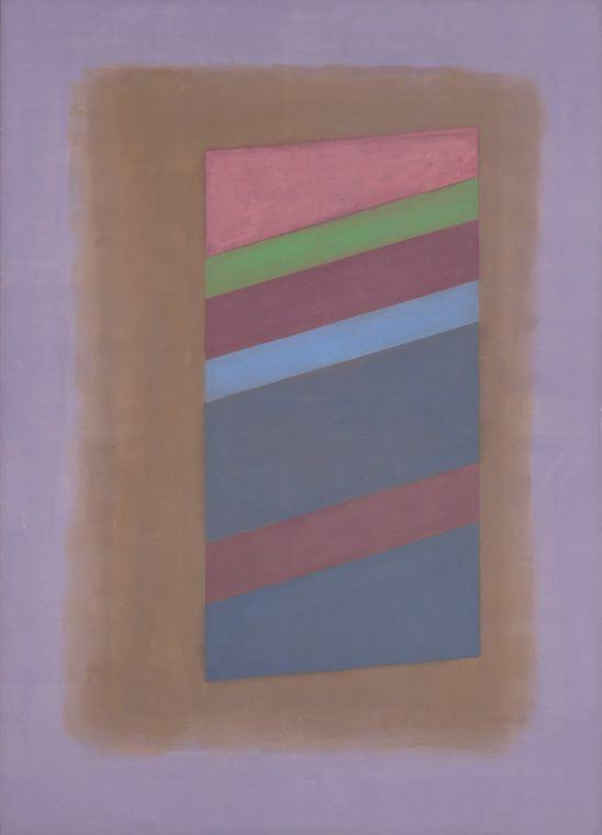 Charles Pollock  (1902-1988)  NY15 , 1969 Acrylic on canvas 85 x 61 inches 243.8 x 152.4 cm