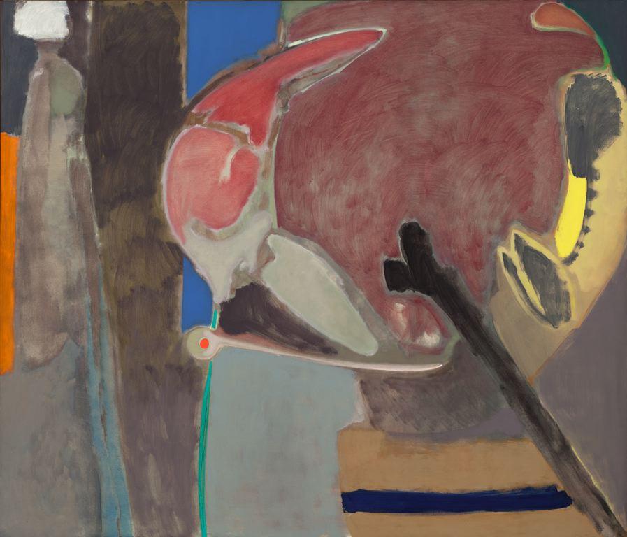 Stephen Greene  (1917-1999)  Vigil , 1962 Oil on canvas 68 x 80 inches 172.7 x 203.2 cm